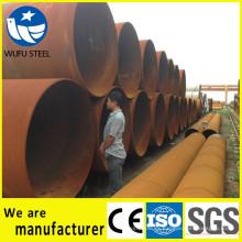 Grandes OD SSAW / LSAW pila de tubo espiral de China