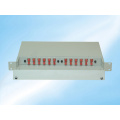Rack Mount ODF Distribution Box 24 Core Fiber Optic Patch Panel