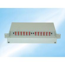 Panel de parches de fibra óptica ODF de 24 núcleos