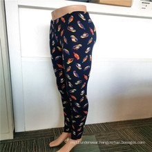 Beautiful Birds Printing Styles Polyester Spandex Leggings