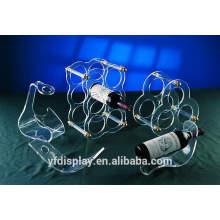 Porte-bouteille en acrylique