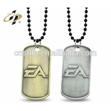 alibaba china wenzhou Free design custom metal made 2d dog tag rfid