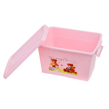 Cartoon Plastic Storage Box for Storage (SLSN056)