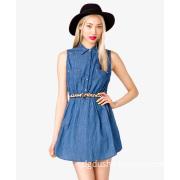 2013 Latest Women Denim Jeans Dress Designs for Summer S129016