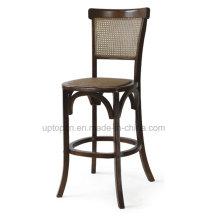Классический Твердый деревянный высокий барный стул (СП-EC454)