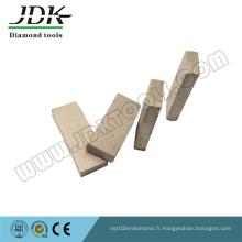 Segment de diamant de 600 mm pour la coupe de la lave et du grès de l'Indonésie
