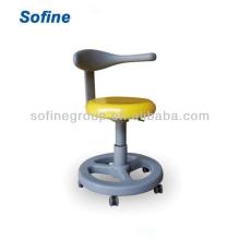 Dental Assistant Stool Dental Nurse Chair (base redonda) Dental Stool Dental Assistant Stool