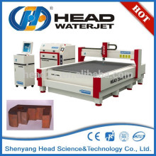 Trouble free processing water jet cut 2D shapes cutting machine