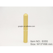 Slender&Elegant Aluminum Pen-shaped Lipstick Tube E055, cup size 8.5mm,Custom color