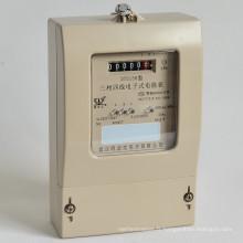 Consommation d'énergie de maison analogique monophasée Watt statique -Heure