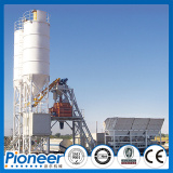 75 station concrete batching station 75m3/h with high performance