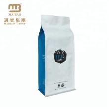 China liefert Aluminiumfolie-Café-Tasche / Gewohnheit druckte 500g 1kg Kaffee, der mit Ventil in Guangzhou verpackt