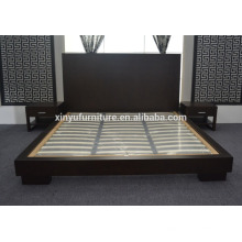 wooden hotel bed for hotel bedroom furniture for 5 star hotel XYN2652