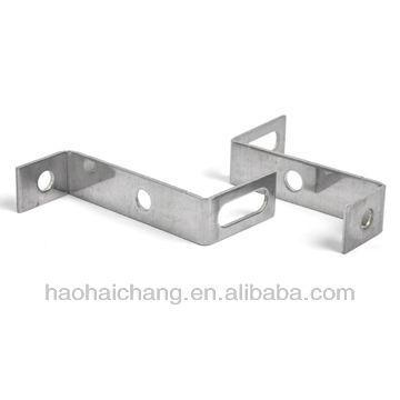 fabricante que estampa los soportes de pared de enmarcado de metal de alta precisión
