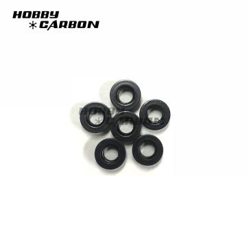 En stock noir anodisé m3 aluminium profil écrous