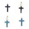 2016 Trendy Product Ethnic Hematite Cross Pendant for Birthday Gift