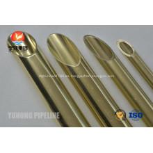 Latón tubo ASTM B111 C68700