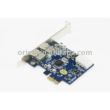 2 puertos USB 3.0 Express Card para escritorio