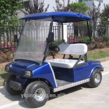 Chariot de golf électrique de deux places de 3000W
