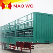 Remolque popular del camión del cargo de la cerca de 12m 40ton