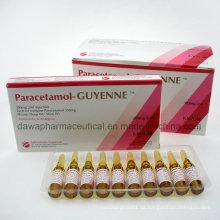 Paracetamol-Guyenne 300mg / 2ml Injectioneach Ml enthält Paracetamol Injektion 150mg
