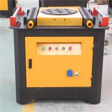 Machine à cintrer de barre d'angle de fer en acier manuelle renforcée de fer à vendre