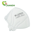 Factory New Style White Earloop Disposable Kn95 Face Masks With Filter Valve