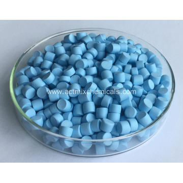 Stained Light-blue Rubber Accelerator PZ ZDMC-70