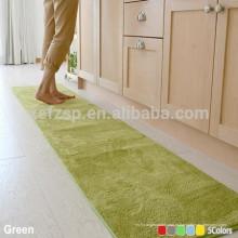 tapetes de cozinha laváveis de microfibra eco-friendly
