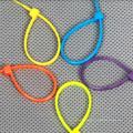 Cravates Zip miniatures 2,5 * 60 avec CE UL