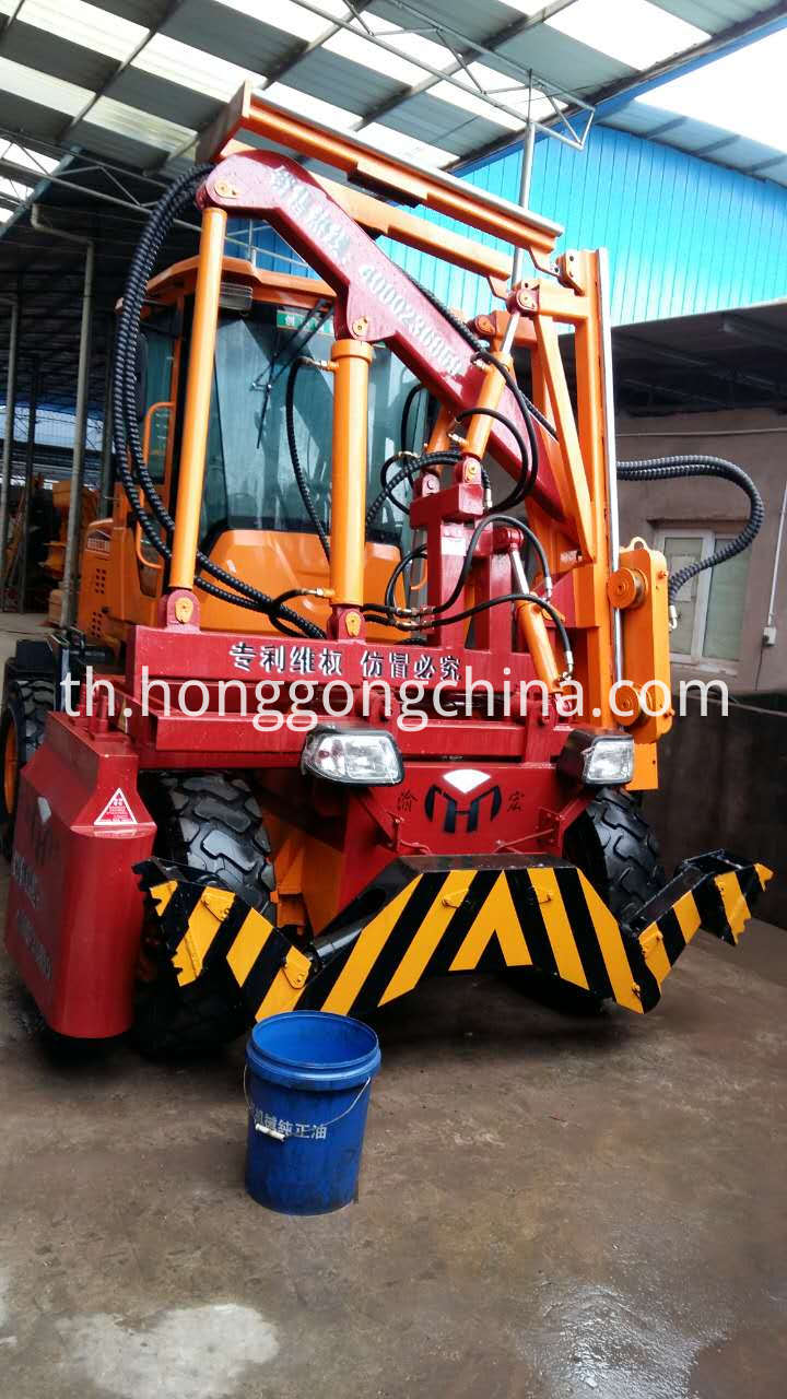 Highway Guardrail Building Machine