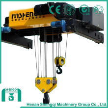 Double Girder Trolley with Double Hook