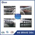 45251-SK7-A00 45251-S5D-A10 45251-S5H-T10 Disco de freno Rotor de fábrica