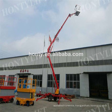 Telescoping towable boom lift Mechanism Portable Lifter