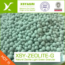2-4 MM green zeolite ball to  Aquatic