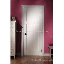Plain wood bedroom door