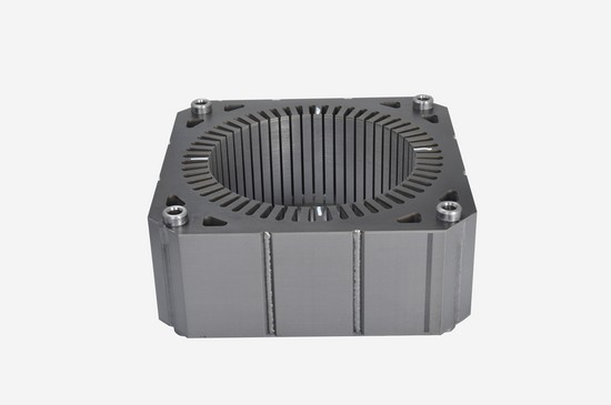 Air conditioner indoor fan motor core
