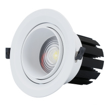 7w- 24w Downlight COB encastré antireflet