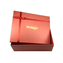Custom packaging factory personalized four color printing cardboard gift boxes with bow-knot