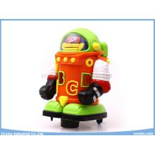 Jouets éducatifs Spaceman musical électrique avec des jouets de blocs
