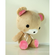 ICTI Audited Factory cute brown plush dog toys