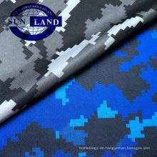 Sportswear-Bekleidung aus 100% Polyester mit Sublimationstarn und bedrucktem Netzgewebe