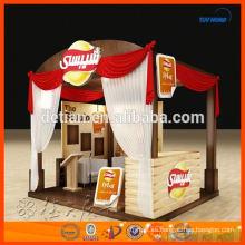 Diseño y fabricación de puestos de exhibición modulares simples hechos en Shanghai