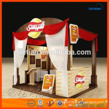 Simple modular exhibition stall design and fabrication made in Shanghai