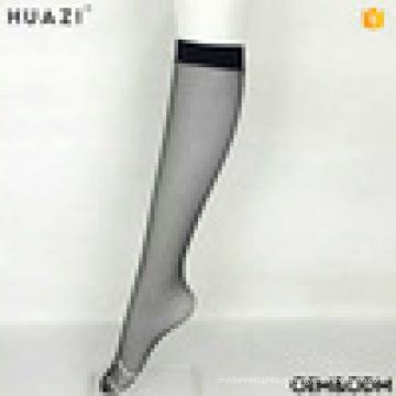 Sublimação meias em branco joelho alta meninas pequenas redes de peixe meias grossas