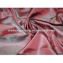 tissu de taffetas de polyester de bas prix