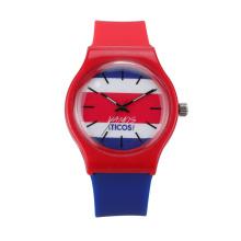 Promotion Cheap Custom Plastic Fashion Simple Analog Quartz Watches Sport Wrist Watch