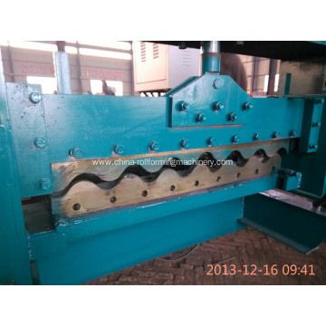 Customized for Corrugated Sheet Roll Forming Machine Metal Sheet Corrugated Tile Roll Forming Machine supply to Gibraltar Manufacturer