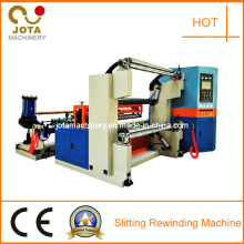 Jumbo Paper Roll Slitting Into Small Roll Machine