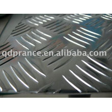 aluminium tread plate five bars